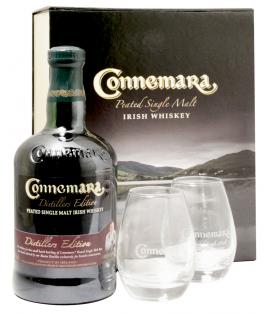 Connemara Distillers Edition + 2 verres