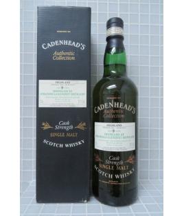 Strathisla 9 yo 1989 Bottled 1999 Bourbon Cask Cadenhead's