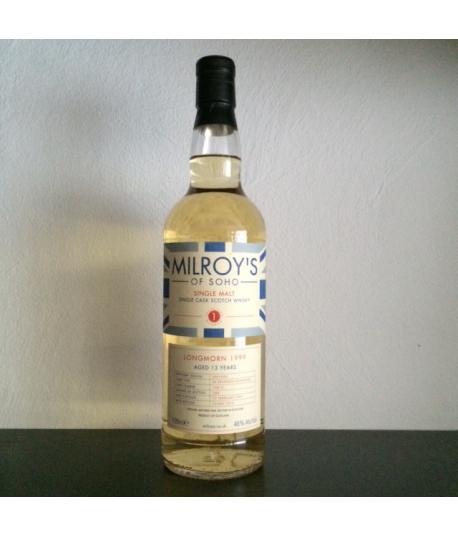 Longmorn 13 yo 1999 Milroy's of Soho