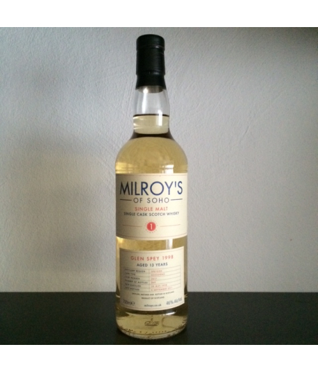 Glen Spey 13 yo 1998 Milroy's of Soho