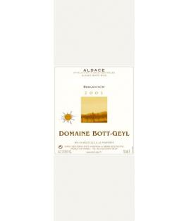 Pinot Blanc Grains Passerillés 2003 (Bott-Geyl)