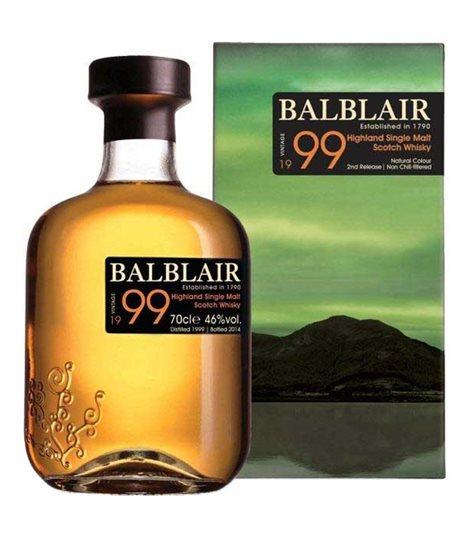 Balblair 1999 3rd Release bottled 2017
