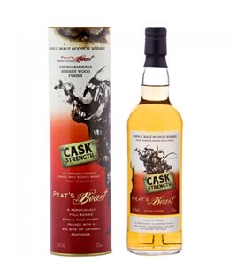 Peat's Beast PX Finish Cask Strength
