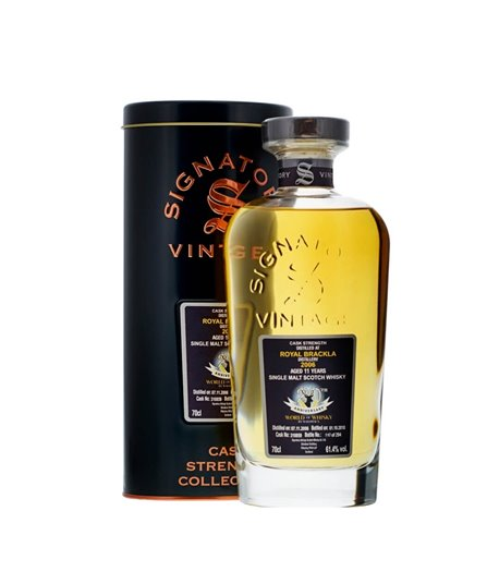 Royal Brackla 11 yo 20th Anniversary Signatory 2006