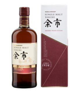 Nikka Yoichi Sherry Wood Finish