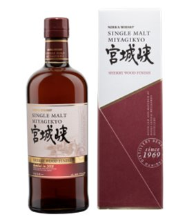 Nikka Miyagikyo Sherry Wood Finish