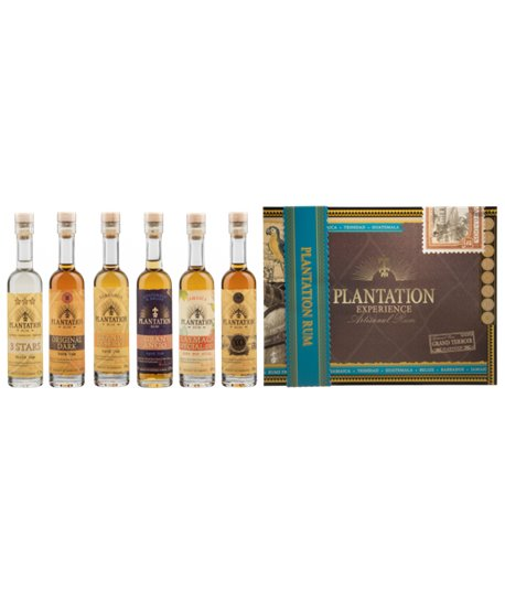 "Plantation Grand Crus ""Experience Box"" 6 x 10cl"