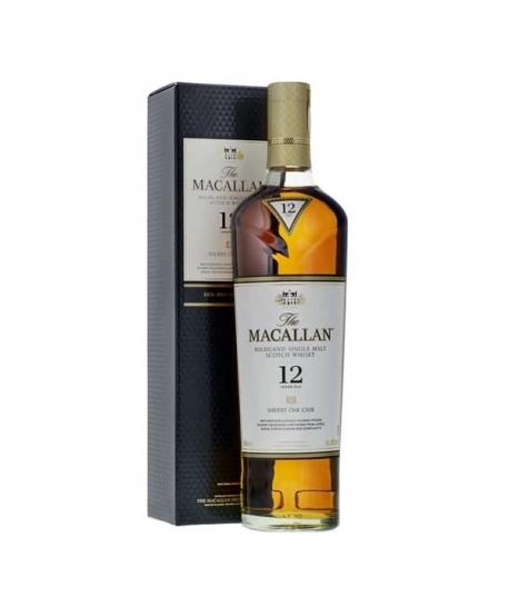 The Macallan 12 yo Sherry Oak Single Malt Whisky