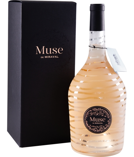 Muse Miraval rosé AOP 2019 150 cl (Miraval)